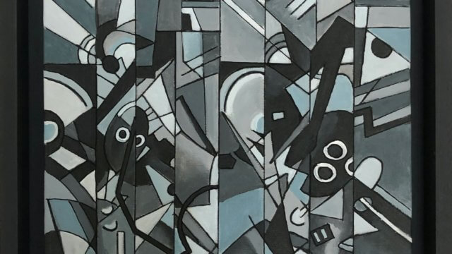 Homage to Kandinsky Black/White